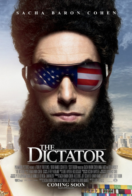 The Dictator is due to be released on the 16th of May in the UK. Key Actors: Sacha Baron Cohen, Megan Fox and Anna Faris For more details, click here: http://www.imdb.com/title/tt1645170/