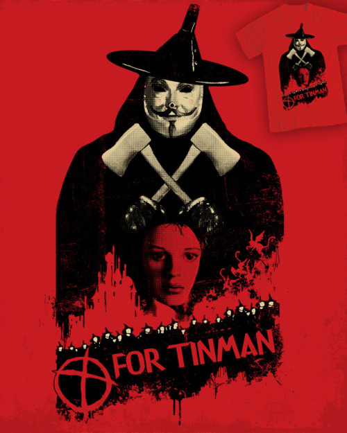 T For Tinman shirt design: Vote @ Threadless