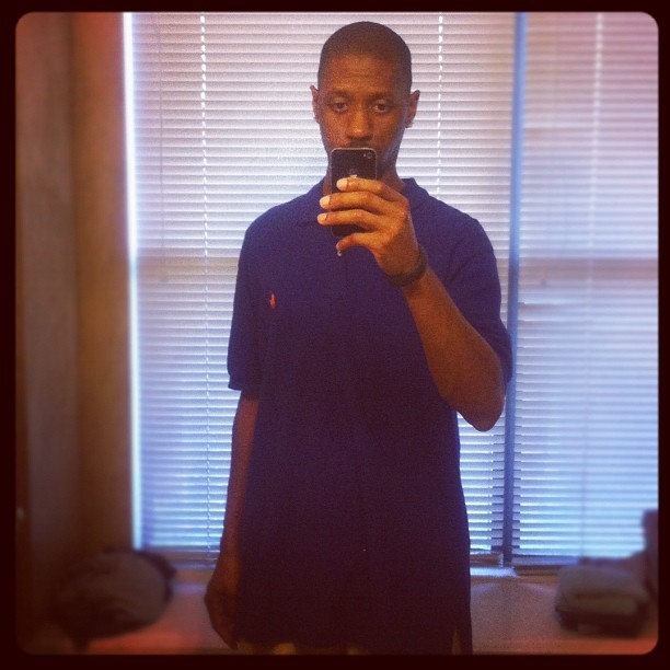 #mayphotoaday something I wore today Polo Down (Taken with instagram)