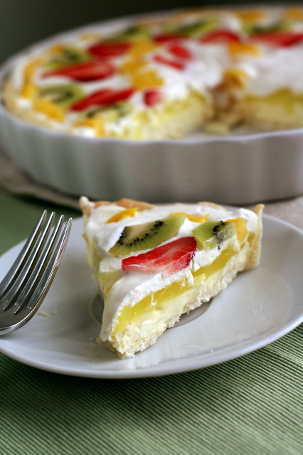 gastrogirl:  layered lemon tart.