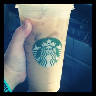 Vanilla. #coffee #icedlatte #starbucks (Taken with instagram)