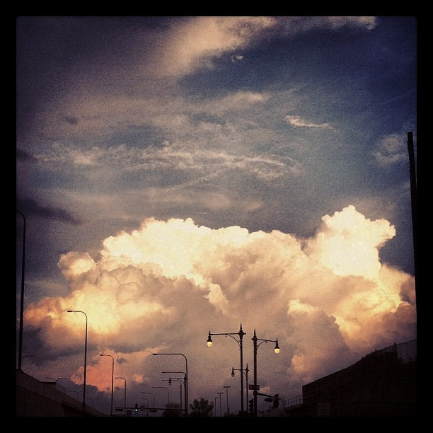 Thunderheads… IN MORDOR (Taken with instagram)