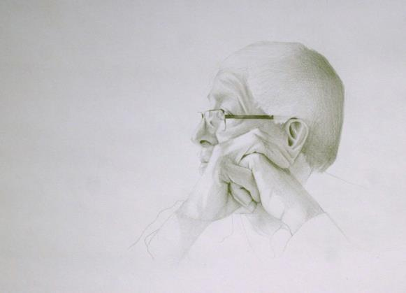graphite drawing i did of my dad in college. still one of my favorites.
