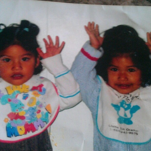 I miss when my sister was this age, she wasn't mean to me:/#throwbackthursday@montes21 (Taken with instagram)