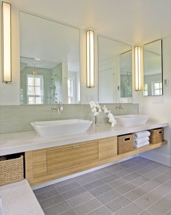 Contemporary Bathroom - ZeroEnergy Design