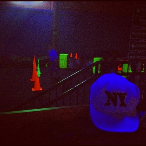 It gets real when the black lights are turned on (Taken with instagram)