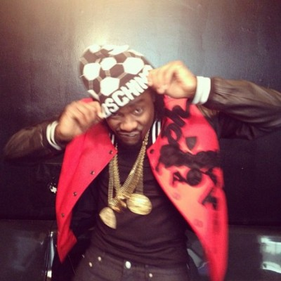 Wale with that yellow gold MMG piece