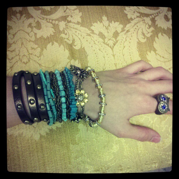 My arm party. #chloeandisabel @chloeandisabel  (Taken with instagram)