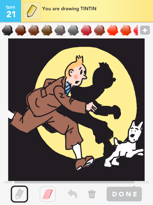Tintin #drawsomething