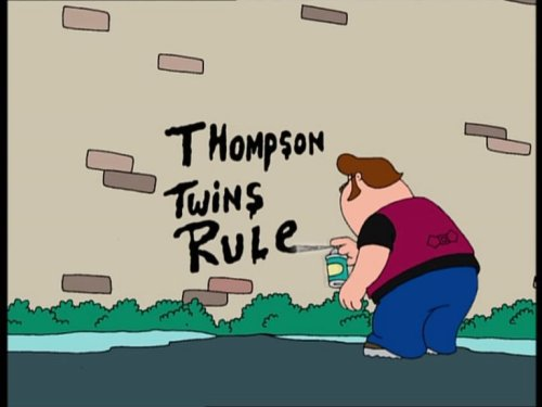 Thompson Twins rule.