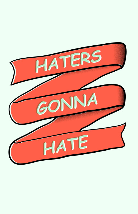 davidiraheta:  Haters gonna hate, because it's Comic Sans :)