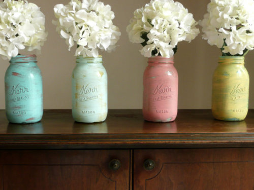 We love shabby chic wedding ideas!