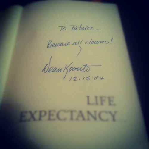 Favorite author. GREAT advice.  (Taken with instagram)