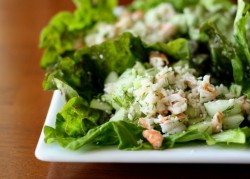 Shrimp & Cucumber Lettuce Wraps click image for recipe