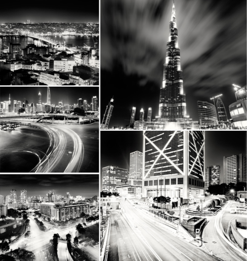 The king of black and white urban landscape: Martin Stavars