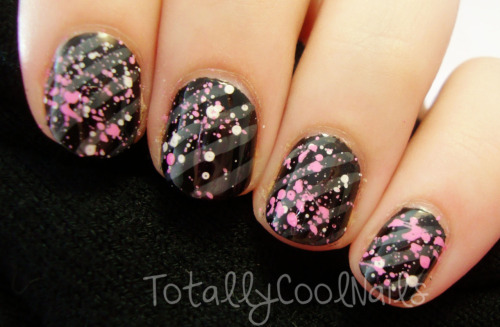 Paint Splatter Nails: http://www.youtube.com/watch?v=WVPfhah9TC8