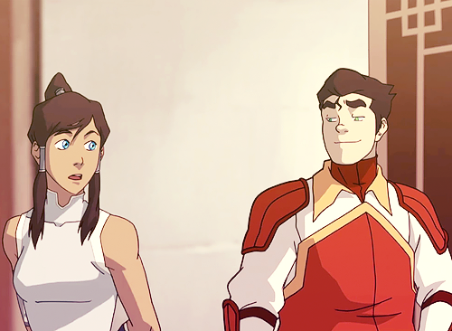 korrashorts:  borra-nation:  Things mod probablyyyy shouldn't edit while in school, but did anyway. Is it me or is Bolin checking her out for a moment? ;D  OH, BOLIN. You're the MOST SUBTLE. ♥