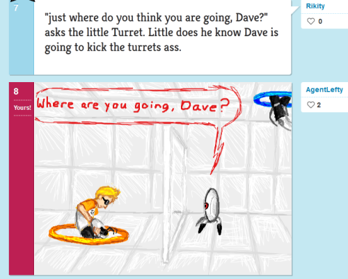 "I kind of kicked myself when I realized the ""Dave"" in this chain was supposed to be from 2001: A Space Odyssey and not Mr. Strider."
