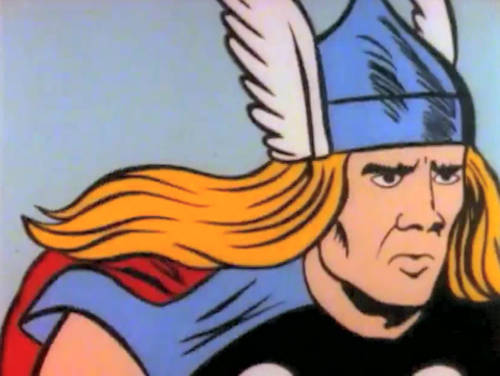 (via Thor channeling some serious Nicolas Cage right here : funny)