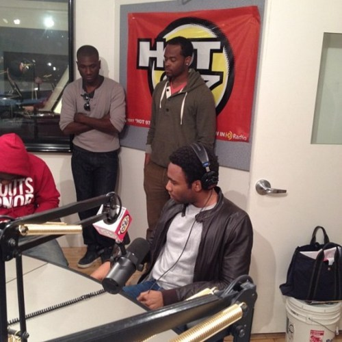 Childish Gambino - FunkMaster Flex Freestyle