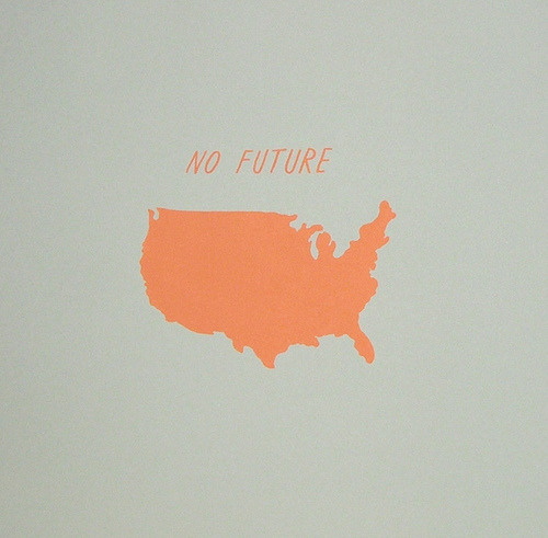 imprecise:  No Future, 2009. (by Ryan Duggan)