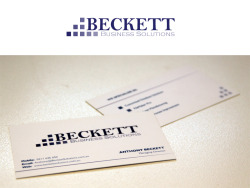 Beckett Business SolutionsBranding and business card design