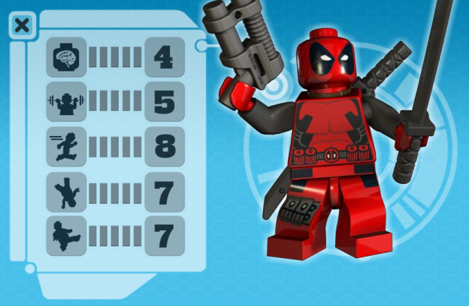 lxromero:  theres an official deadpool lego minifig… This thing better end up existing in keychain form.