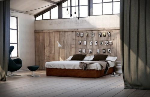 homedesigning:  Bedroom Feature Walls