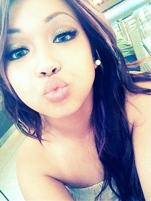 xkveezy:  Kissy Kissy. LOL no jk.