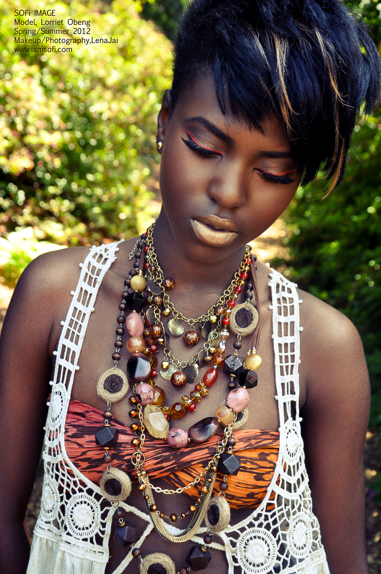 Today was a great day…enjoyed working with model Lorriet Obeng. Makeup/Styling/Photography: Lena Jai @SOFi_IMAGE