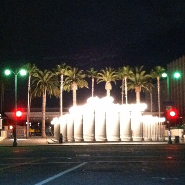 Stop or Go? #lacma #nofilter  (Taken with instagram)