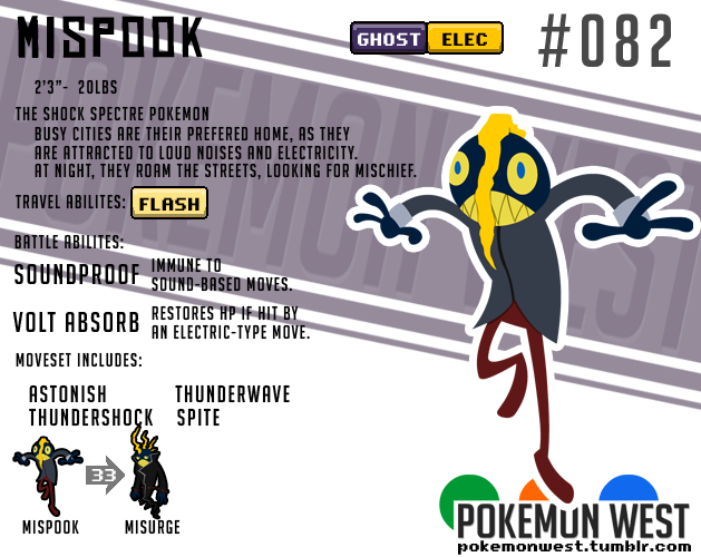 pokemonwest:  #082 Mispook
