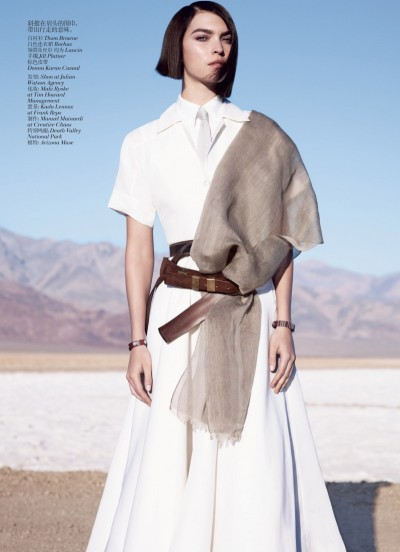 slightlyseductive:  Arizona Muse by Josh Olins for Vogue China May 2012. Styling by Nicoletta Santoro.
