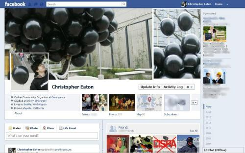 My Facebook Profile Design for our Clean Our Cloud campaign. I was handing out black balloons around Amazon HQ to ask they power their cloud computing services with renewable energy, not coal.