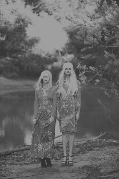 "slightlyseductive:   Publication: ""Grey Gardens,"" Fashion Gone Rogue. Photographer: Harper Smith. Stylist: Madley. Models: Sabine, Djosfien."
