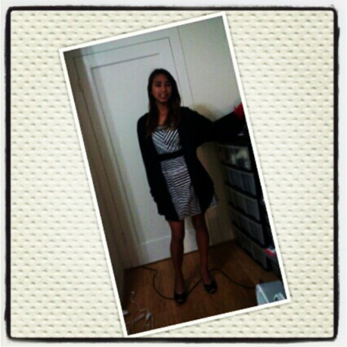 Dress for banquet? I think yes>___^ (Taken with instagram)