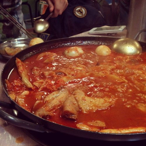 떡볶이 (Taken with instagram)