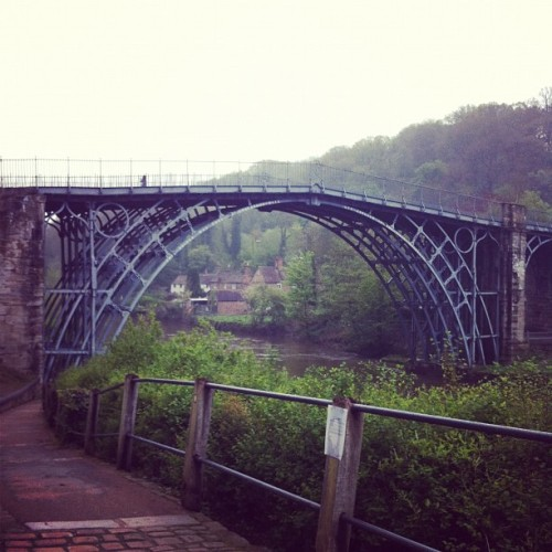 The Ironbridge bridge :) (Taken with instagram)