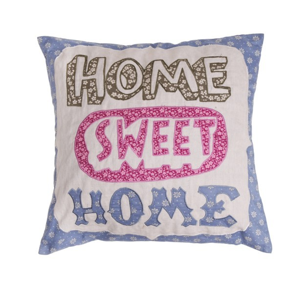 Home Sweet Home Applique Cushion