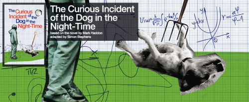 UK: Public booking for The Curious Incident Of The Dog In The Night Time with Una Stubbs is now open at National Theatre. Description from AmazonThe title The Curious Incident of the Dog in the Night-time (or the curious incident of the dog in the night-time as it appears within the book) is an appropriate one for Mark Haddon's ingenious novel both because of its reference to that most obsessive and fact-obsessed of detectives, Sherlock Holmes, and because its lower-case letters indicate something important about its narrator. Christopher is an intelligent youth who lives in the functional hinterland of autism—every day is an investigation for him because of all the aspects of human life that he does not quite get. When the dog next door is killed with a garden fork, Christopher becomes quietly persistent in his desire to find out what has happened and tugs away at the world around him until a lot of secrets unravel messily.