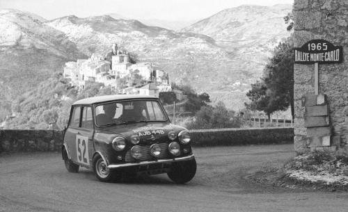 Mini at Monte Carlo 1965