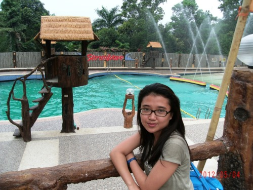 At Bosay Resort in Antipolo.