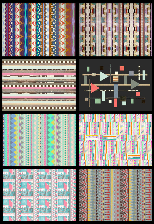 (via Pattern Report | Aztec Influence (part 2) | Pattern People | Surface Design Inspiration)
