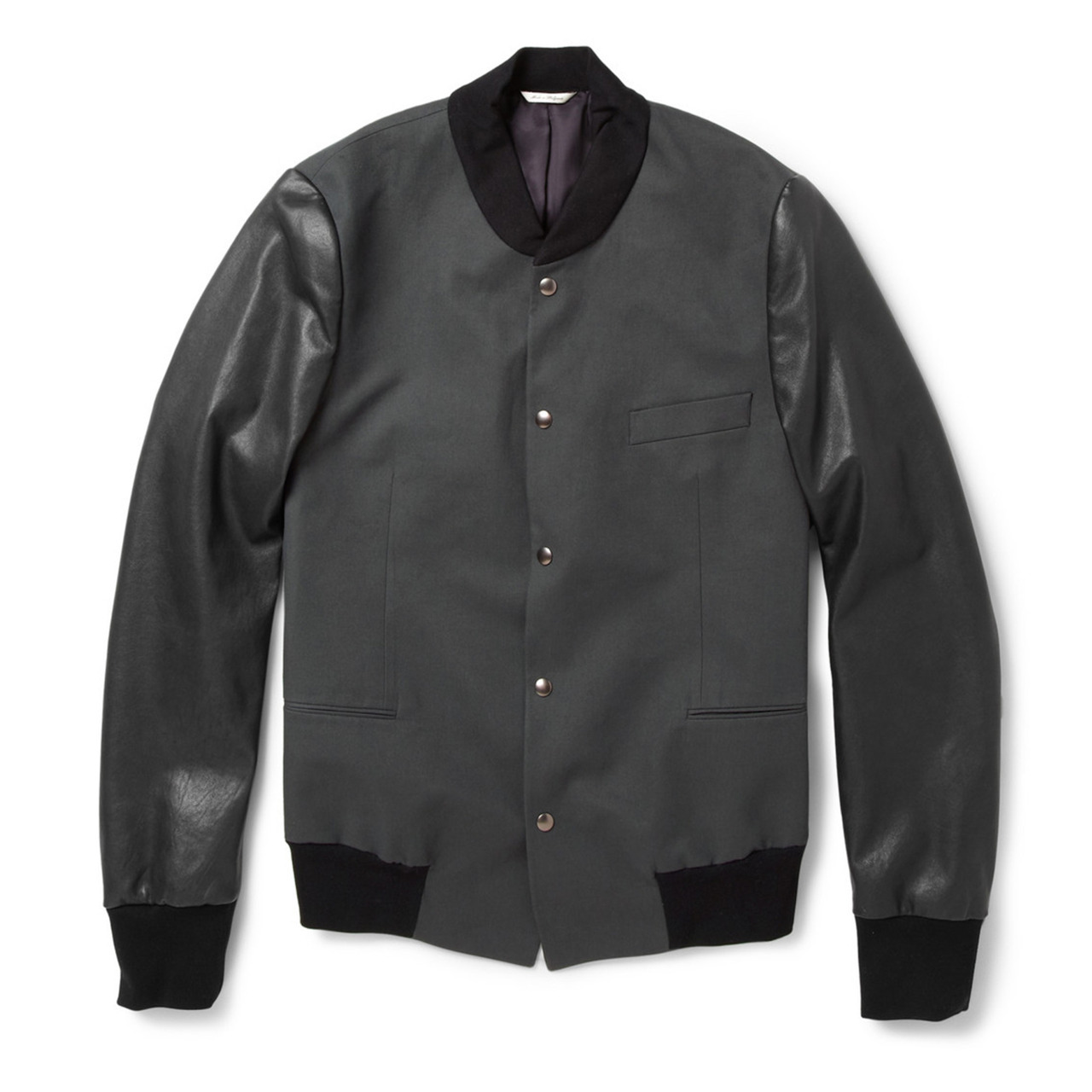 Take your look into a whole new (Ivy) league with this Paul Smith varsity jacket, designed exclusively for MR PORTER