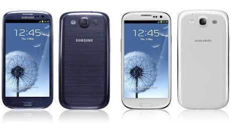 The much awaited Samsung Galaxy S3 unveils