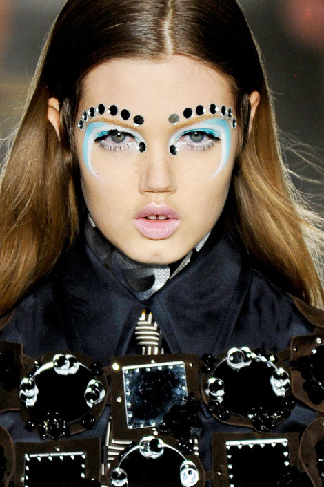 all-madeup:  Lindsey Wixson for Miu Miu at Paris Fashion Week 2012