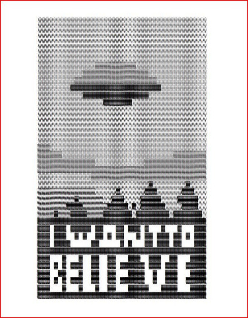 The Truth Is Out There The X-Files illustration by Jimmy Bryant :: via atomicchild