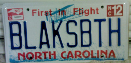 Black Sabbath license plate by sumthnwchy on Flickr.