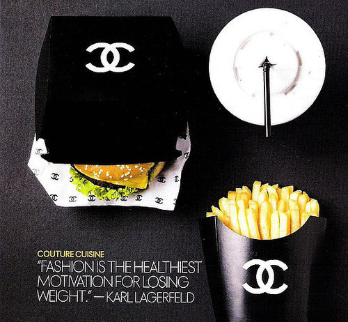 Fashion is the healthiest motivation for losing weight - Karl Lagerfeld