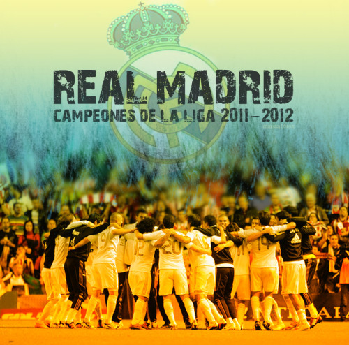 Real Madrid Club de Futbol | Champions of La Liga 2011-2012